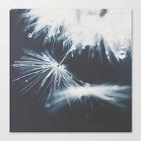 indigo Canvas Prints featuring indigo by Ingrid Beddoes