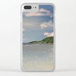 Beachside Clear iPhone Case