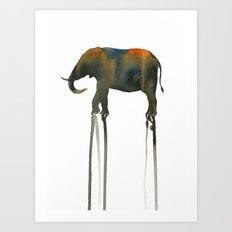elephant_002 Art Print