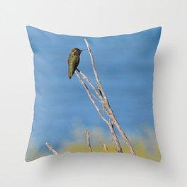 beach hummer Throw Pillow