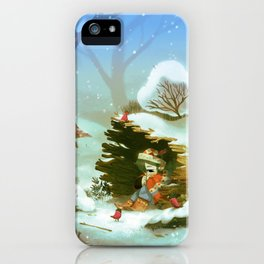 Givre iPhone Case