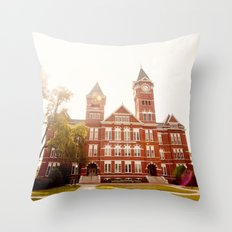Samford Hall - Auburn University 2 Throw Pillow
