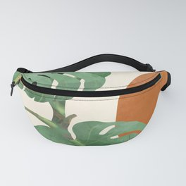 Tropical Leaves- Abstract Art  Fanny Pack