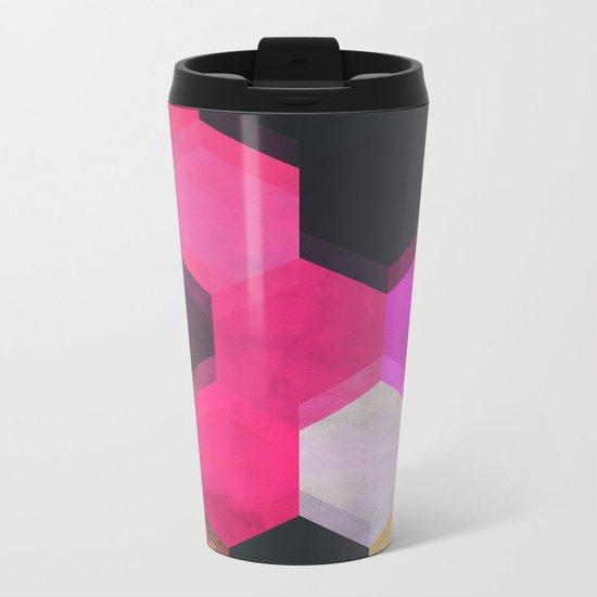 colour + pattern 13 Metal Travel Mug
