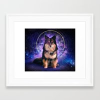 doge Framed Art Prints featuring Doge by Verneri Kontto