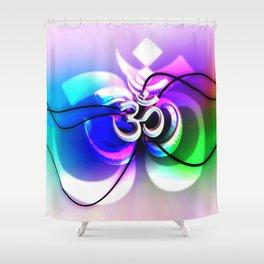 ॐ) Shower Curtain