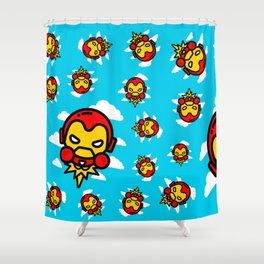 I´m Invincible Shower Curtain