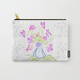 Bouquet of abstract flowers Carry-All Pouch