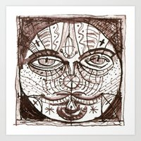 patchwork 011 Art Print