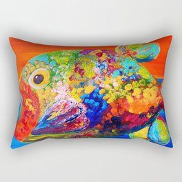 Deviously Dappled Rectangular Pillow