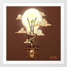 Aerostatic Bulb Art Print