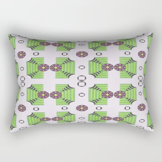 Many Sacred Spaces Rectangular Pillow