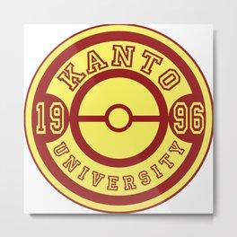 Kanto University 96 logo Metal Print