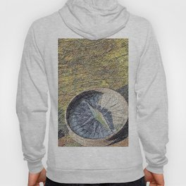 map with wind rose Hoody