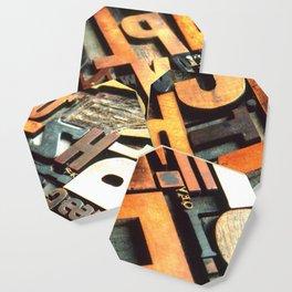 3B - Typography Photography™ Coaster