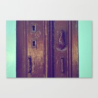 door Canvas Prints featuring door by gzm_guvenc