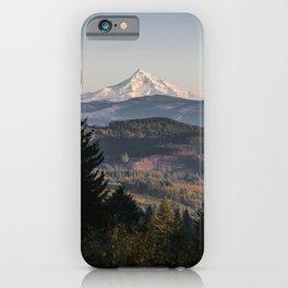 PNW Mount Hood Adventure II iPhone Case