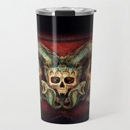 Skull And Beasts Travel Mug