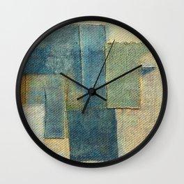 Rustic Rhino 2 Wall Clock