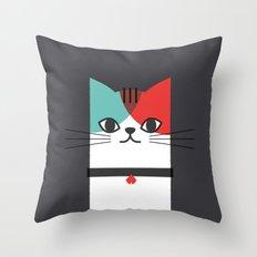 A Cat! Throw Pillow