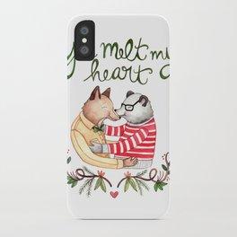 Melt My Heart iPhone Case