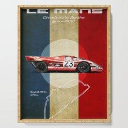 Le Mans Vintage Salzburg Serving Tray