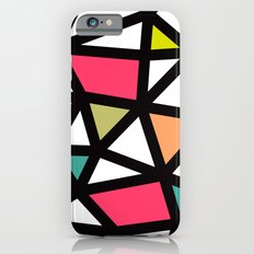 White lines & colors pattern #2 iPhone 6s Slim Case