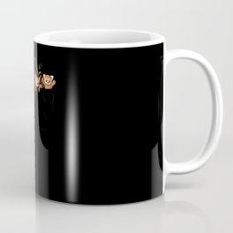 Pocket Red Panda Bears Coffee Mug