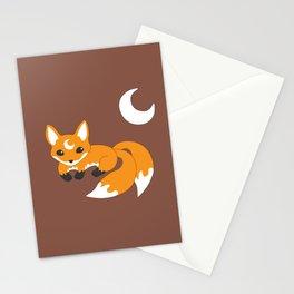 Kitsune Fox Stationery Cards