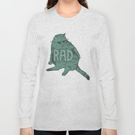 Rad Cat Long Sleeve T-shirt