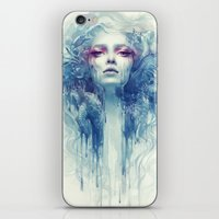oil iPhone & iPod Skins featuring Oil by Anna Dittmann