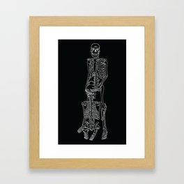 Skeleton Sex #3 Framed Art Print