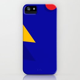 Geometric Shapes 01 iPhone Case