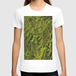 Pellucidar Sap Green Abstract T-shirt