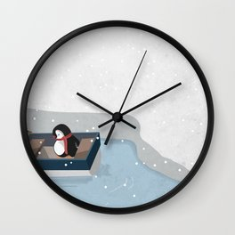 Reaching the South Pole Wall Clock
