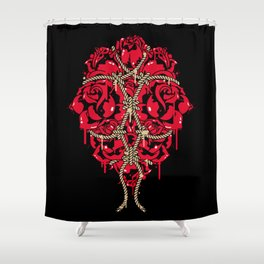 BOUND ROSES Shower Curtain