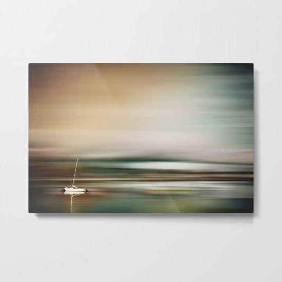 Calm Seas Metal Print
