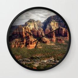 Guardians of Sedona - AZ Wall Clock