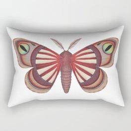 demon (made up moth) Rectangular Pillow
