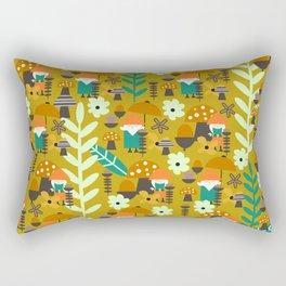 Autumn gnome garden Rectangular Pillow