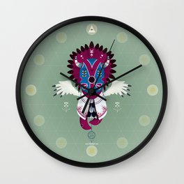 Totem Eyak Wall Clock