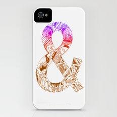 '&' iPhone (4, 4s) Slim Case