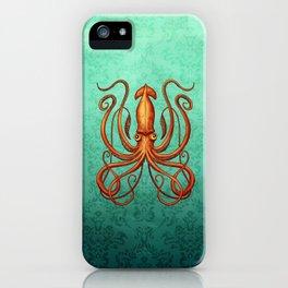 Giant Squid 2 iPhone Case