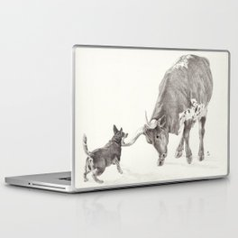Penny vs. the Cow Laptop & iPad Skin