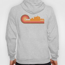 Retro Style Phoenix Arizona Skyline Hoody