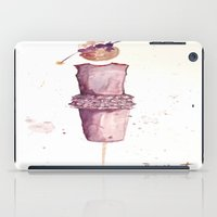 watercolour iPad Cases featuring Watercolour by Vanessa Datorre