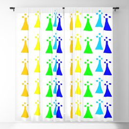 Hermine -Ermine-armino 13 Colorfull. Rainbow ! Blackout Curtain