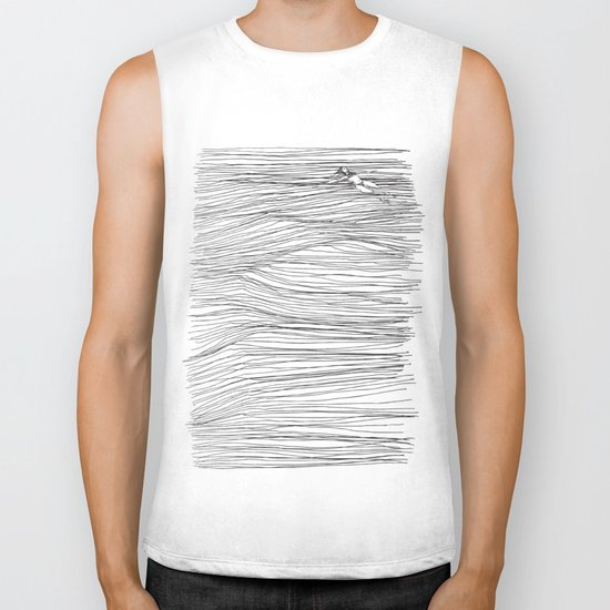 Another Long Silence Biker Tank