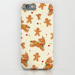 Christmas Unicorn iPhone Case