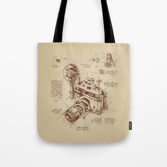 Moment Catcher Tote Bag